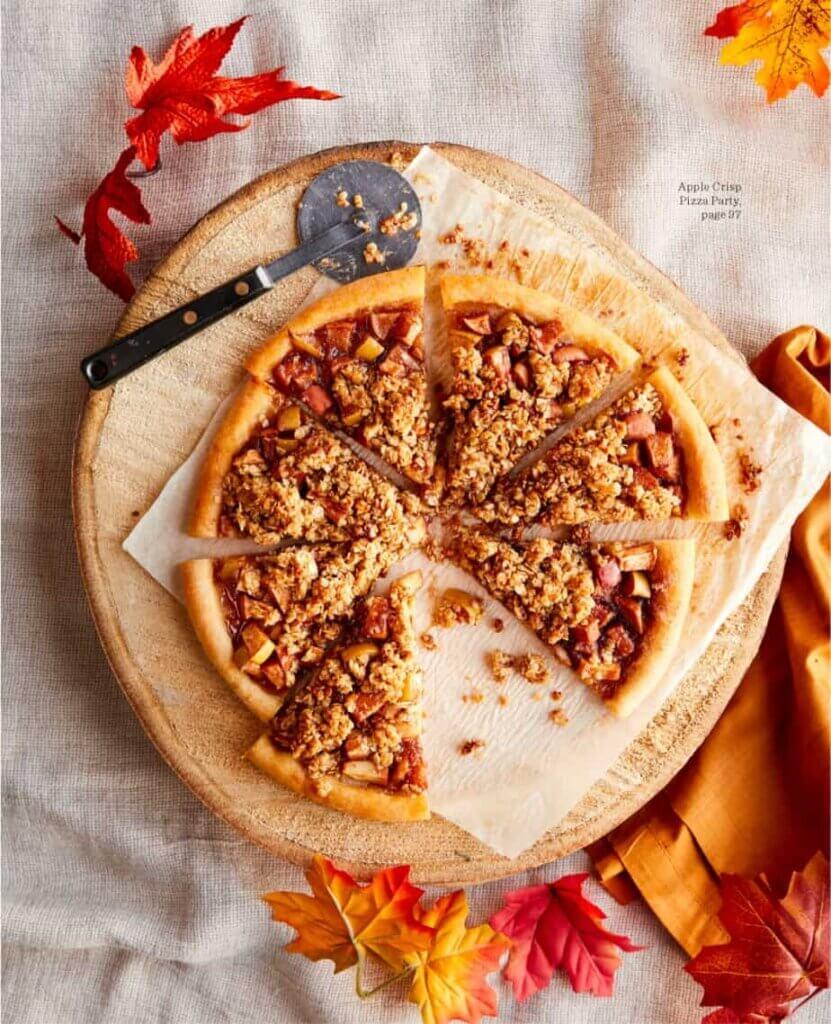 apple dessert pizza