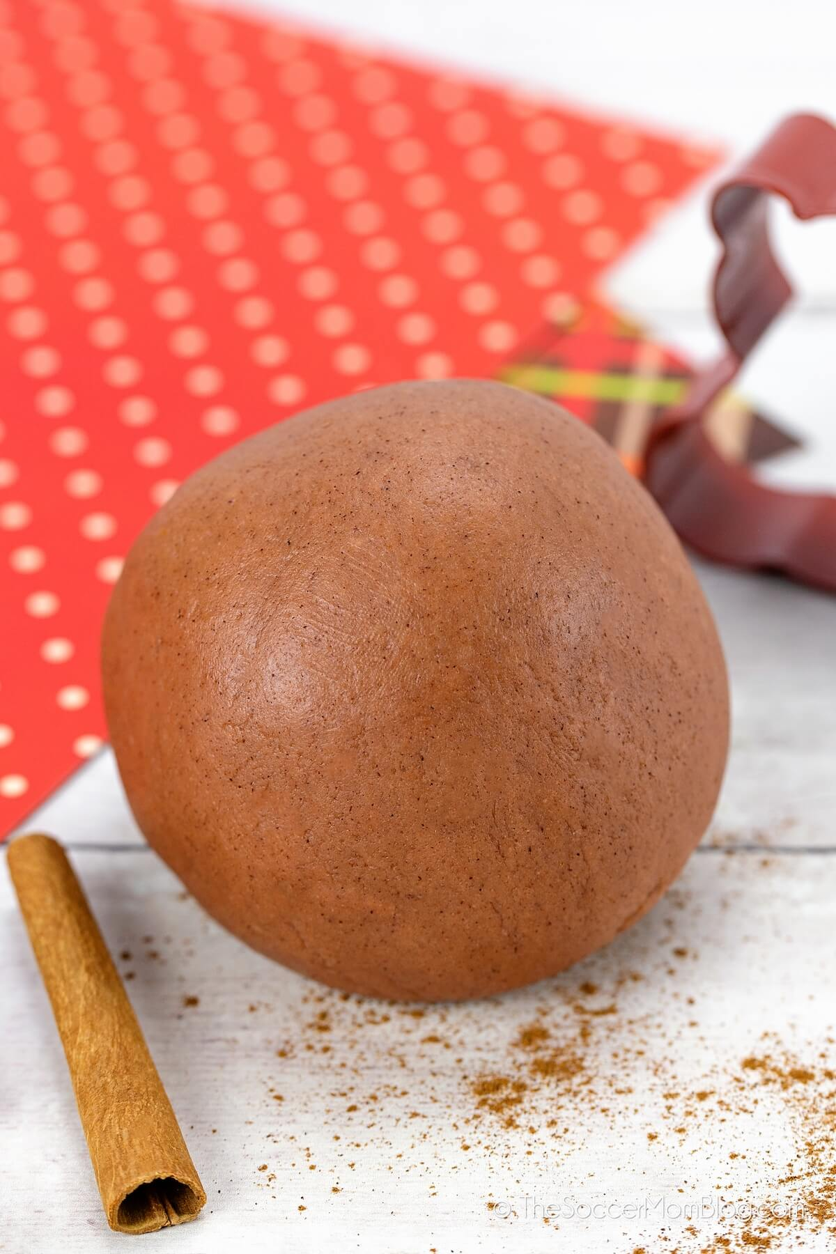 cinnamon scented playdough