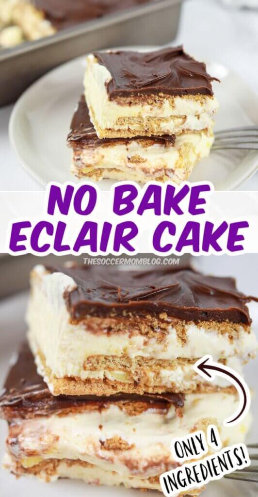 homemade eclair cake recipe