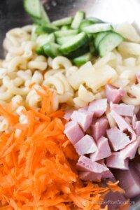 Hawaiian Pasta Salad step 1