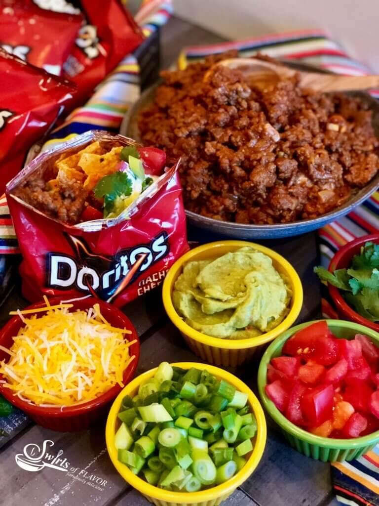 tacos in Doritos bag