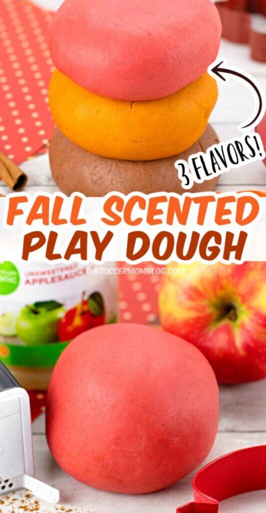 3 scented fall playdough recipes